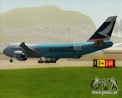 Boeing 747-8 Cargo Cathay Pacific Cargo für GTA San Andreas rechten Ansicht