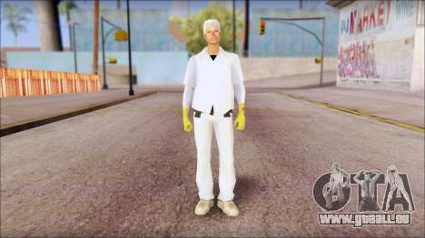 Doc with Radiation Protection Suit pour GTA San Andreas
