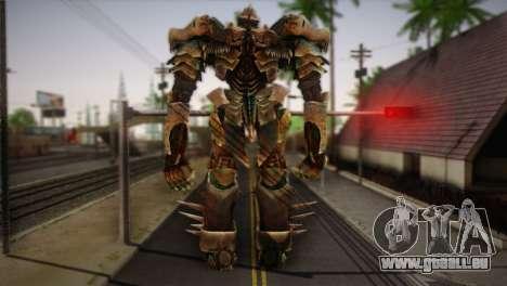 Grimlock v1 pour GTA San Andreas deuxième écran