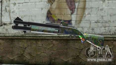 Graffiti Shotgun pour GTA San Andreas