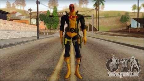 Xmen Deadpool The Game Cable pour GTA San Andreas