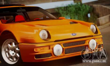 Ford RS200 Evolution 1985 für GTA San Andreas obere Ansicht