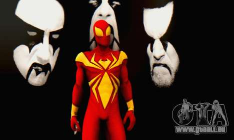Skin The Amazing Spider Man 2 - DLC Iron Spider pour GTA San Andreas