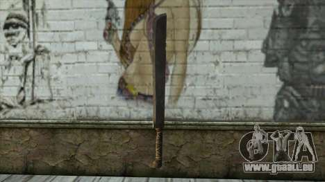 Machete from Assassins Creed 4: Freedom Cry für GTA San Andreas