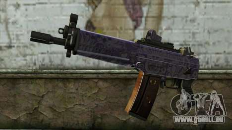 Graffiti MP5 für GTA San Andreas