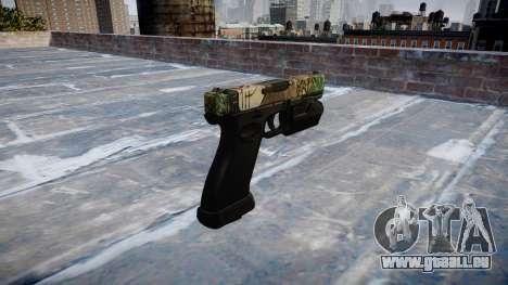 Pistole Glock 20 ronin für GTA 4 Sekunden Bildschirm
