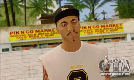 Vagos from GTA 5 Skin 1 pour GTA San Andreas troisième écran