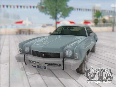 Chevrolet Monte Carlo 1973 für GTA San Andreas