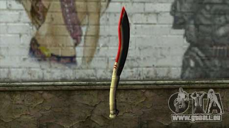 Fang Blade from PointBlank v1 für GTA San Andreas zweiten Screenshot