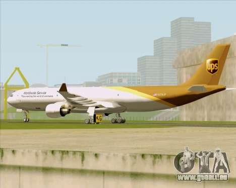 Airbus A330-300P2F UPS Airlines für GTA San Andreas Seitenansicht