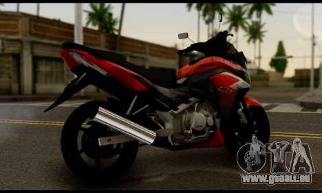 Honda CS1 pour GTA San Andreas laissé vue
