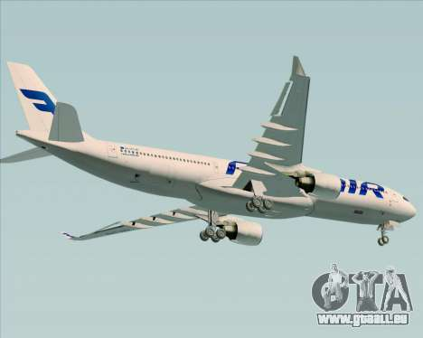 Airbus A330-300 Finnair (Current Livery) pour GTA San Andreas roue
