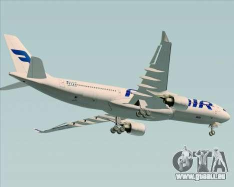Airbus A330-300 Finnair (Current Livery) pour GTA San Andreas roue