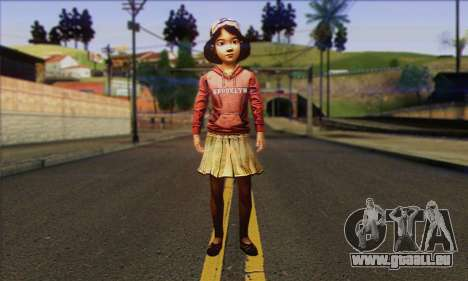 Klementine from Walking Dead pour GTA San Andreas