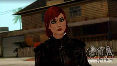 Mass Effect Anna Skin v9 für GTA San Andreas dritten Screenshot
