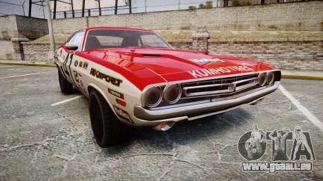 Dodge Challenger 1971 v2.2 PJ7 pour GTA 4