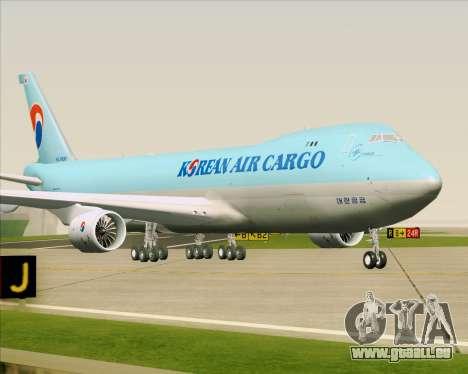 Boeing 747-8 Cargo Korean Air Cargo für GTA San Andreas linke Ansicht