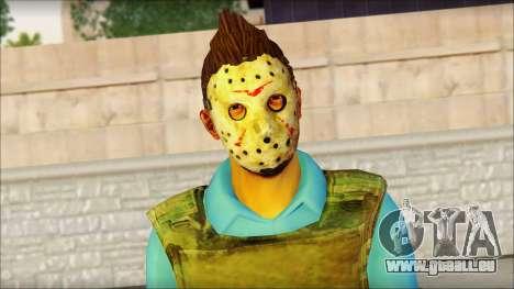 Skin Sicario GTA V By Cesar Hardy für GTA San Andreas dritten Screenshot