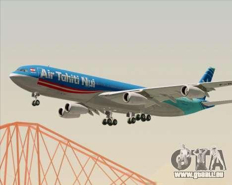 Airbus A340-313 Air Tahiti Nui für GTA San Andreas Seitenansicht
