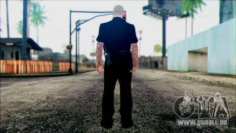 Agent de Sculpteur de Scène pour GTA San Andreas deuxième écran