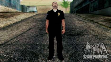 Officer Carver von Zwischensequenz für GTA San Andreas