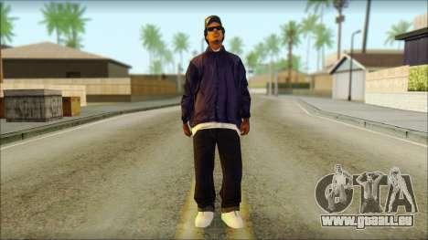 Eazy-E Blue Skin v1 für GTA San Andreas