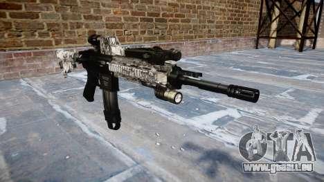 Automatische Gewehr Colt M4A1 ghotex für GTA 4