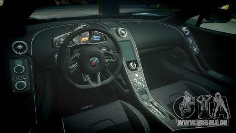 McLaren 650S Spider 2014 [EPM] Pirelli v2 pour GTA 4 est une vue de l'intérieur