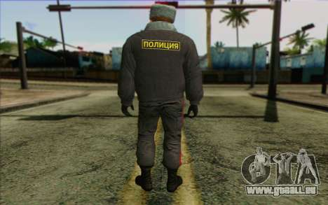 La Police En Russie, la Peau de 4 pour GTA San Andreas deuxième écran