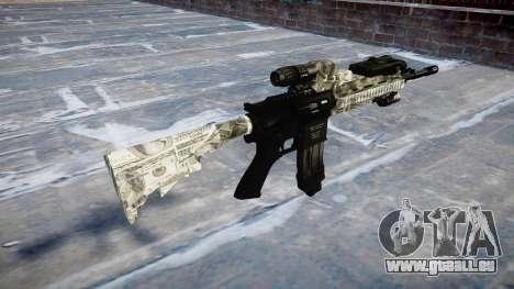 Fusil automatique Colt M4A1 benjamins pour GTA 4 secondes d'écran