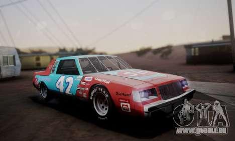 Buick Regal 1983 pour GTA San Andreas salon