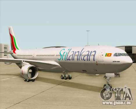 Airbus A330-300 SriLankan Airlines für GTA San Andreas linke Ansicht