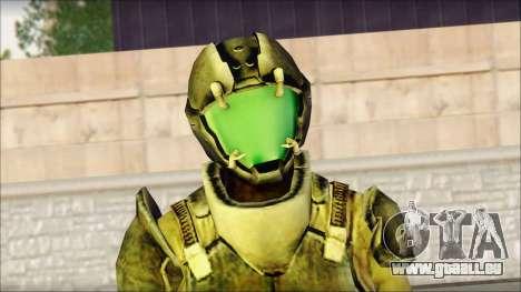 Crew from Dead Space 3 pour GTA San Andreas troisième écran