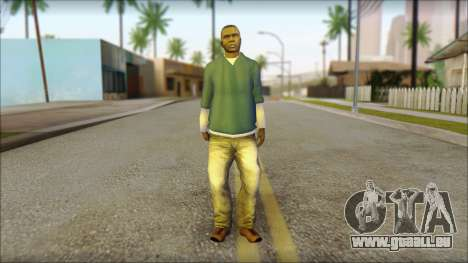 Franklin from GTA 5 pour GTA San Andreas