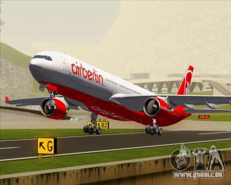 Airbus A330-300 Air Berlin pour GTA San Andreas salon