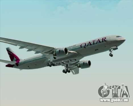 Airbus A330-300 Qatar Airways pour GTA San Andreas vue arrière