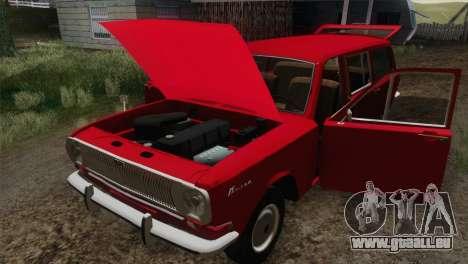 GAZ 24-02 pour GTA San Andreas vue arrière