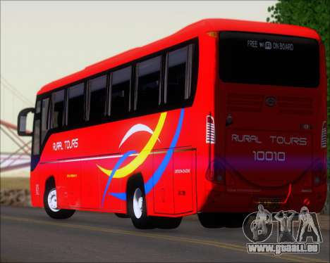 Yanson Viking 4th Generation Rural Tours 10010 pour GTA San Andreas salon