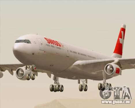 Airbus A340-313 Swiss International Airlines pour GTA San Andreas