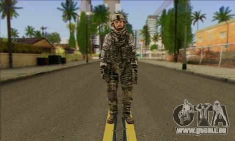 Task Force 141 (CoD: MW 2) Skin 2 pour GTA San Andreas