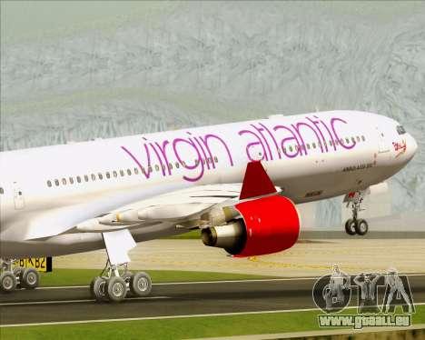 Airbus A330-300 Virgin Atlantic Airways pour GTA San Andreas moteur