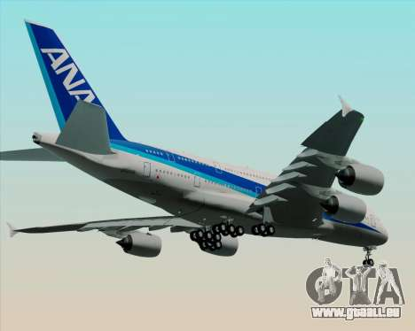 Airbus A380-800 All Nippon Airways (ANA) für GTA San Andreas Innenansicht
