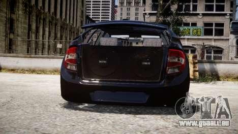 Lada Granta für GTA 4 Innenansicht