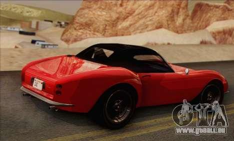Grotti Stinger 1.0 (IVF) pour GTA San Andreas laissé vue