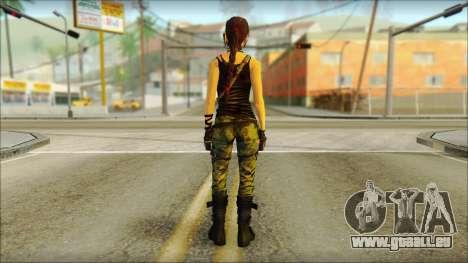 Tomb Raider Skin 4 2013 für GTA San Andreas zweiten Screenshot
