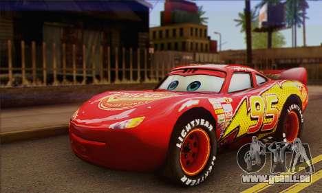 Lightning McQueen für GTA San Andreas