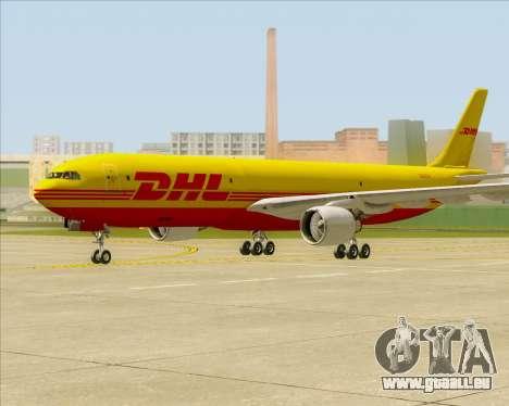 Airbus A330-300P2F DHL für GTA San Andreas linke Ansicht