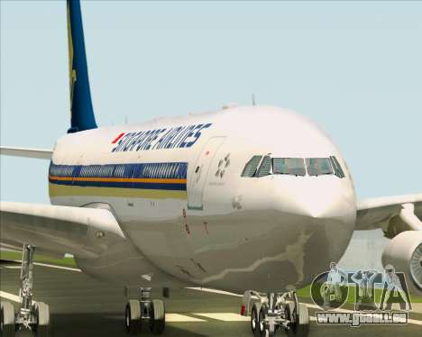 Airbus A340-313 Singapore Airlines für GTA San Andreas Motor