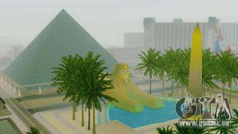 Neue Texturen der Pyramide in Las Venturas für GTA San Andreas her Screenshot