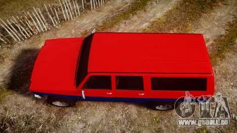 GTA V Declasse Rancher XL pour GTA 4 est un droit